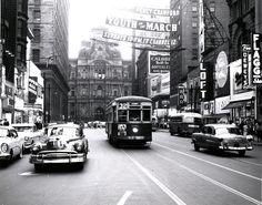 16th & Market, Philadelphia. May 1955
