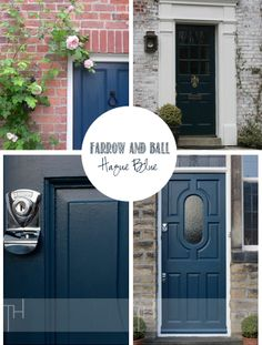 Swoon Worthy: Front of House: Gettin' my Farrow & Ball On (the door that is)