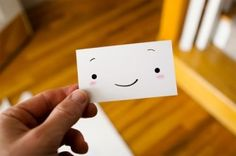 Happy business card