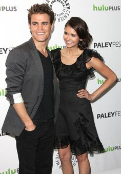 """Paul Wesley on Nina Dobrev: """"She's like my little sister in a weird way. And it's kind of gross, because I kiss her and make out with her."""" (To the New York Post)"""