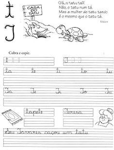 57 ATIVIDADES DE CALIGRAFIA – TREINO DA CALIGRAFIA | Cantinho do Educador Infantil