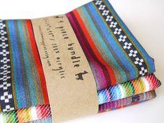 Tribal Fabric Latin American Woven navajo aztec style fabrics
