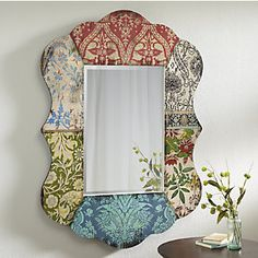 Gabby Multi-Pattern Mirror from Through the Country Door®