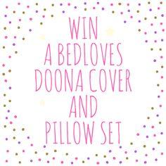 Win a duvet cover and pillowcase set!
