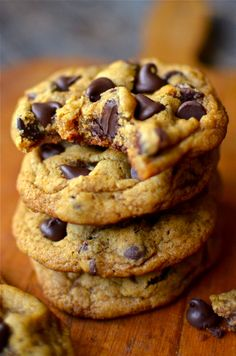 Yammie's Noshery: Chewy Pumpkin Chocolate Chip Cookies (egg free)