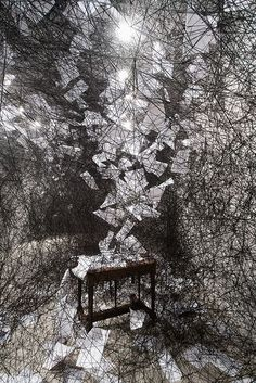 Silence Art Installation by Chiharu Shiota. https://musetouch.org/?p=15095
