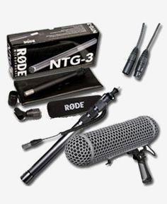 Kiralık Rode NTG-3B Shotgun Mikrofon Seti  Rental Rode NTG-3B Shotgun set