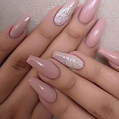 Further 40 trendy coffin nails plan ideas coffinnails 4 .- Further 40 trendy coffin nails plan ideas coffinnails 40 trendy coffin nails - Magenta Nails, Mauve Nails, Aycrlic Nails, Neutral Nails, Rose Gold Nails, Manicures, Coffin Nails, Nail Nail, Burgendy Nails