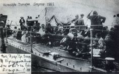 Christians of Smyrna rescued from Kamalist atrocities on the board of ship, September, 1922. Genocide Museum | The Armenian Genocide Museum-institute