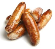 Sausages Directions Qty : 2-3 Thick Sausages Cooking Time : 12-15 Mins Temperature : 180 ° C or 360 ° F Instructions * Cook from Defrosted * No Oil Necessary * Prick holes to allow the fat to drip out * Place sausages in AirFryer with holes facing down * Shake Half Way Notes Subtract 2-3 minutes if cooking Thin Sausages