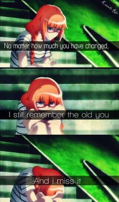 Anime and Manga Fandom Sad Anime Quotes, Manga Quotes, True Quotes, Words Quotes, Best Quotes, Depressing Quotes, Sayings, Inspiring Quotes, Otaku