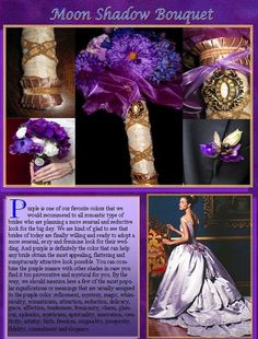 Exquisite Moon Shadow Bouquet by whiteriver51 on Etsy