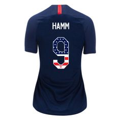 598a9169d68 2018 19 Women s Mia Hamm Away Jersey USA Independence Day Soccer City