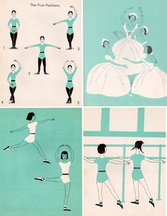 I Want to be a Ballet Dancer by Carla Greene, illustrated by Mary Gehr, 1959.