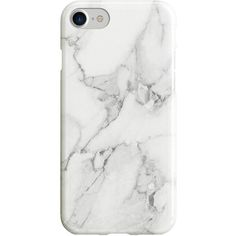 Women's Recover White Marble Iphone 6/7 Case ($20) ❤ liked on Polyvore featuring accessories, tech accessories, phone cases, phone, tech, white, iphone cover case, marble iphone case, iphone cases and iphone hard case