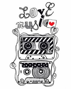 Love music art that