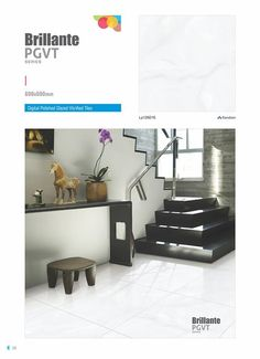 """LP126016 - Millennium Tiles 600x600mm (24x24) Digital #PGVT Vitrified #Porcelain #FloorTiles Series """"Lorenzo"""" Vitrified Tiles has a production capacity of 25.000m²/day of Tiles (80.000m²/day in total for the Millennium #Tiles Group) and catering its products to all over India."""