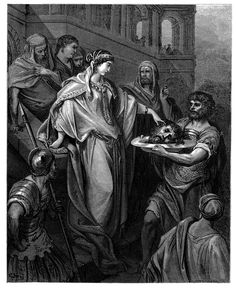 22. The Daughter of Herod Receiving the Head of John the Baptist (Gustave Doré)