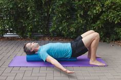 6 Foam-Roller Stretches To Ease Neck And Shoulder Pain
