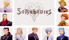 Somebodies. It's kind of sad that Sora is included in this, but it's true.