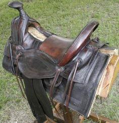 Antique Plantation Saddle | 258 saddle old style beautifl old saddle seat size 15