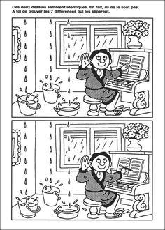 jeu des 7 erreurs à imprimer