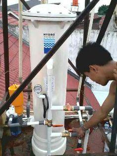 Filter Air   Penyaring Air   Penjernih Air HYDRO mampu menjernihkan air kuning, keruh, bau, berkapur dan menjadikannya lebih jernih dan segar seperti air pegunungan.