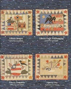 Jan Patek Quilts: It's Still May but now it's Thursday. Small Quilts, Mini Quilts, It's Thursday, Applique, Liberty House, Primitive Quilts, Red And White Quilts, Patriotic Quilts, Country Quilts