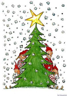 family christmas card by HikingArtist.com, via Flickr