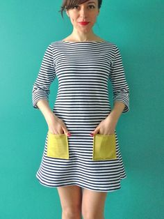Coco by Tilly and the Buttons. A wonderfully simple pattern and great introduction to sewing with knits.