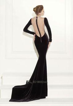 2015 New Fashion Sheath Long Sleeve Beaded V-neck Evening Dress