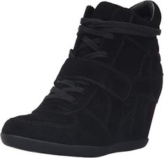 Shop a great selection of Ash Women's Bowie Fashion Sneaker. Find new offer and Similar products for Ash Women's Bowie Fashion Sneaker. Ash Sneakers, Sneakers Mode, Black Sneakers, Shoes Sneakers, Sneakers Style, Sneakers Fashion Outfits, Fashion Shoes, Hidden Wedge Sneakers, Wedge Shoes