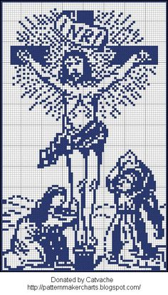 religious cross stitch