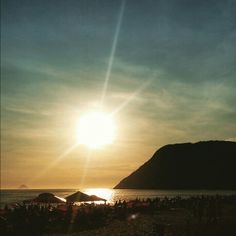 Praia de Itacoatiara - Niterói, RJ - Brasil