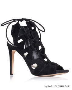 Jillian Cut-out asymmetric lacing Heels