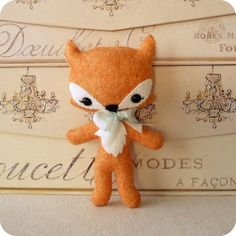 TagAlong Fox pdf Pattern  Instant Download by Gingermelon on Etsy, $5.00