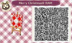 Este es un QR Code para Animal Crossing, creado por mí; como podéis observar, es un suelo con la temática de Navidad. [9-9]  Lo podéis encontrar en mi canal de YouTube: https://www.youtube.com/channel/UCh6uwa2CjSgR4WQ-ghRQY6Q (Roxy).  ¡Espero qué os guste! ;)