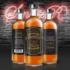 Whiskey Label Packaging Design on Behance #whiskey  #graphic #design #illustration #packaging