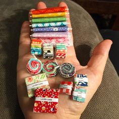 I recently participated in a small swap with some sewing friends. Stalking my recipients Pinterest board revealed a whole new world of ...
