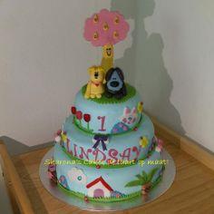 woezel en pip cake by Sharona's Cakes