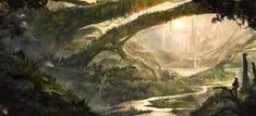 Forest by llamllam.deviantart.com on @DeviantArt