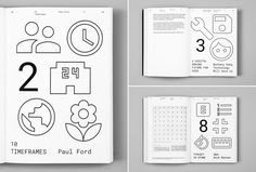 The icons used throughout the SPAN visual identity were all derived from Google Design's open-source system icons