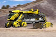 Futuristic Truck, Future Vehicle