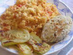 Пшенка с помидорами  Мамина еда