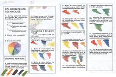 colour theory worksheet Color Theory Quiz Page of Color