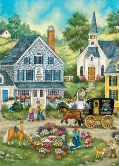 Bonnie White Afternoon Treats World's Smallest Jigsaw Puzzle - 1000 pc