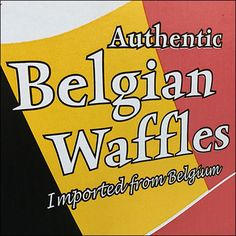 Authentic Imported Belgian Waffle Display Pomegranate Sauce, Belgian Waffles, International Recipes, Close Up, Bakery, Display, Belgium Waffles, Floor Space, Billboard