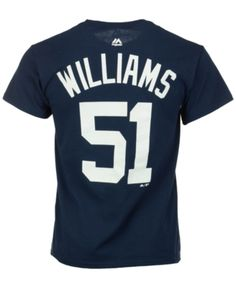 a01c48df7 Majestic Men s Bernie Williams New York Yankees Cooperstown Player T-Shirt  - Blue XXL