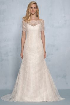 STACEY | Augusta Jones 2013 - I like the lace look around the arms