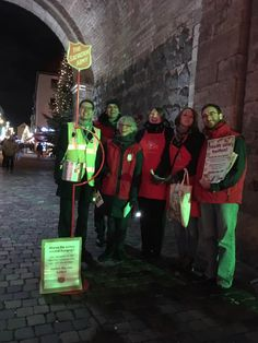 We enjoyed singing and talking with people at the Christmas kettle, Chlodwigplatz. Kettles, Singing, Make A Donation, Army